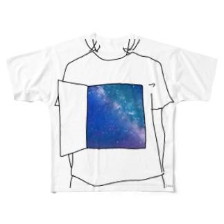 内なる宇宙 Full graphic T-shirts