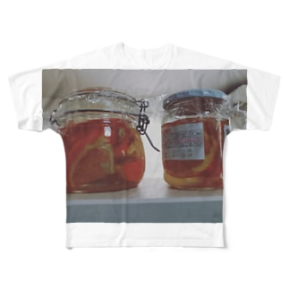 みかんの酵母作り Full graphic T-shirts
