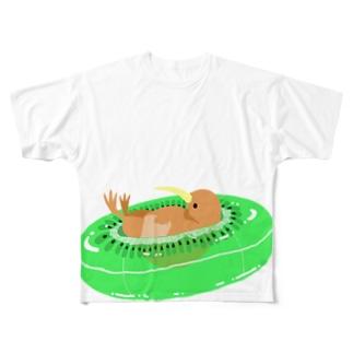 キウイ!!! Full graphic T-shirts