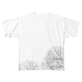 秋空 Full graphic T-shirts