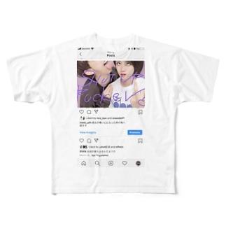 はたはた Full graphic T-shirts