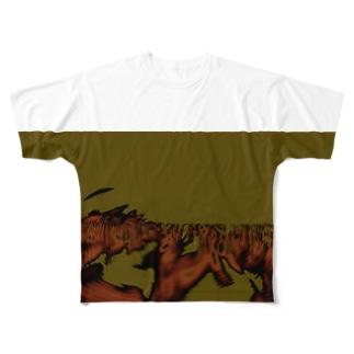 Aquarium adventure Full graphic T-shirts