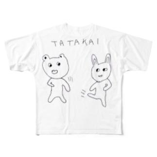 TATAKAI Full graphic T-shirts