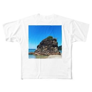 いなさのはま Full graphic T-shirts