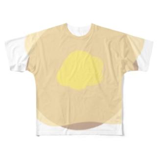 メープルシロップがすき Full graphic T-shirts