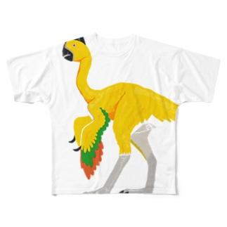 オヴィラプトルのグッズ Full graphic T-shirts