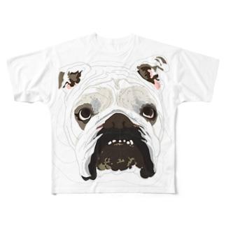TONKURI Full graphic T-shirts