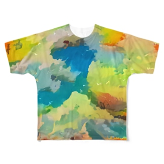 COLORS Full graphic T-shirts