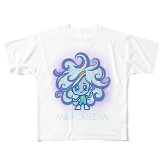 alpacca-creativeのAndromedan(アンドロメダ星人) Full graphic T-shirts