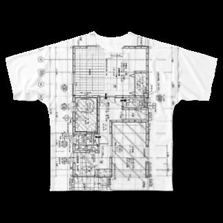 ManiManiの簡易プリズンブレイク Full graphic T-shirts