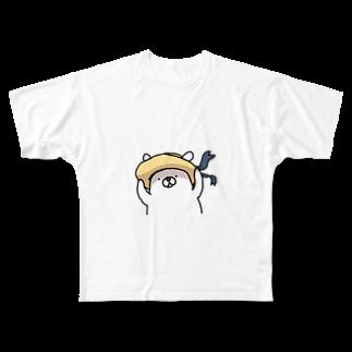 TK-marketの白熊 Tシャツ Full graphic T-shirts
