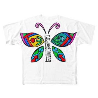 free.B Full graphic T-shirts