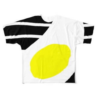 Jの目玉 Full graphic T-shirts