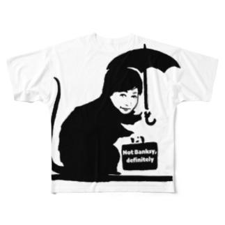 Not Banksy, definitely Full graphic T-shirts