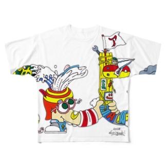 あくたくん Full graphic T-shirts