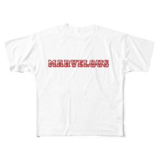 ザ シンプル part1 All-Over Print T-Shirt
