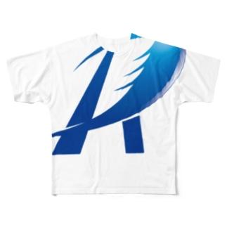 R٭͜wingのRwing Full graphic T-shirts