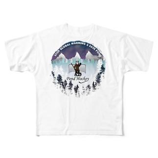 Pond Hockey Tee Full graphic T-shirts