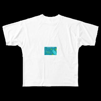iceshark66の0°YOL.O Full graphic T-shirts