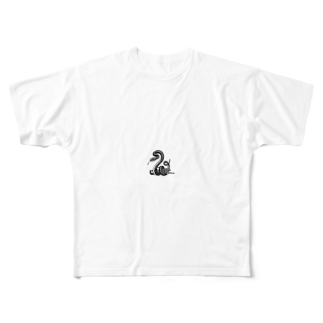 iceshark66の0°YOL.O Full graphic T-shirts
