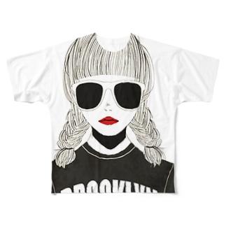 brooklyn Full graphic T-shirts