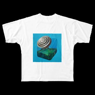 koukiのメロンソーダ Full graphic T-shirts