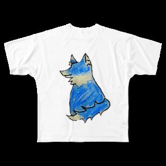 愛子のWolf☆ Full graphic T-shirts