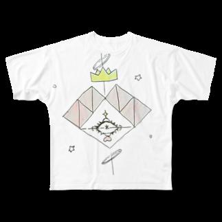 愛子の不思議な世界へ Full graphic T-shirts