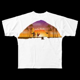 Hilo Diego Design ShopのEndless Hawaii Full graphic T-shirts