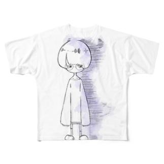 無垢ちゃん Full graphic T-shirts