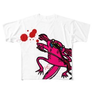 ああ Full graphic T-shirts