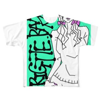 ブリジット Full graphic T-shirts