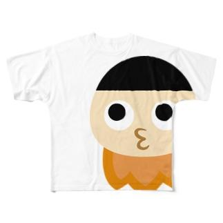 ROKESUTA-KUN Season Silent Spring 2020 / Full Graphic Tshirts Full Graphic T-Shirt