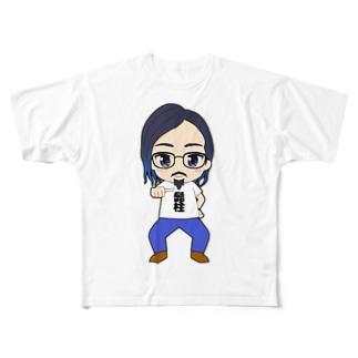 きょろおぢぃ Full graphic T-shirts