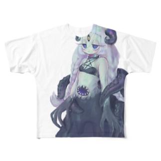 宇宙人ちゃん Full graphic T-shirts