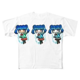 せれな(みくさんコラボ) Full graphic T-shirts