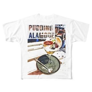 プリンアラモード All-Over Print T-Shirt