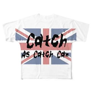 キャッチレスリング Full graphic T-shirts