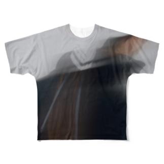 STAY HOME ritsuko karita/裏面ロゴありB Full Graphic T-Shirt