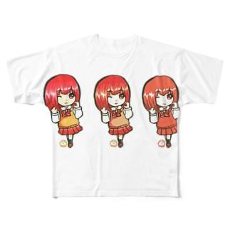あさひ(みくさんコラボ) Full graphic T-shirts