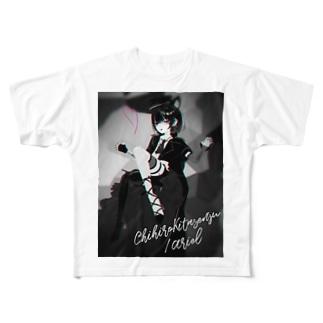 Ariel【北千住千洋OfficialGoods】 Full graphic T-shirts