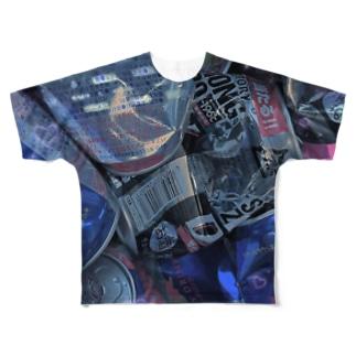 アイラブ不健康 Full graphic T-shirts
