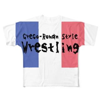 グレコローマンTシャツ Full graphic T-shirts