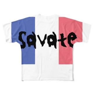 サバットTシャツ Full graphic T-shirts
