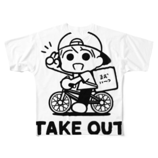 takeout Full graphic T-shirts
