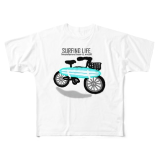 SURFING LIFE Full graphic T-shirts