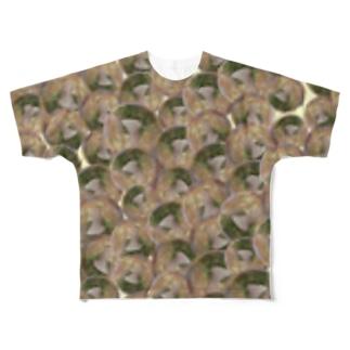 博多ラーメン Full graphic T-shirts