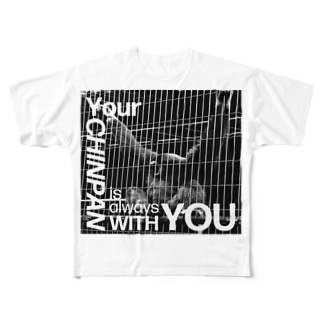 Your CHINPAN is always WITH YOU Tee Full graphic T-shirts