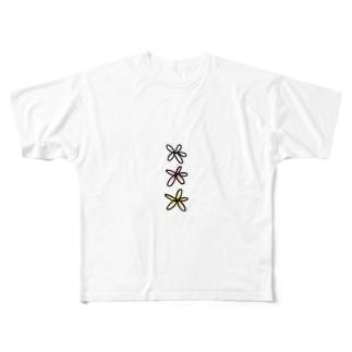りり🌸の花 Full graphic T-shirts