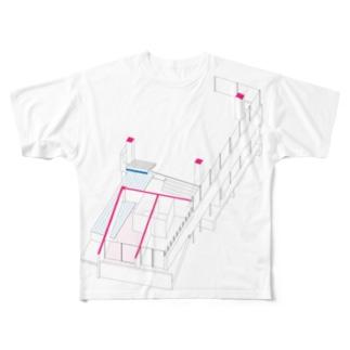 こたのRoomT3 Full graphic T-shirts